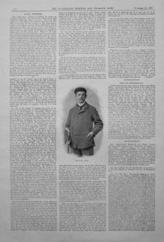 """""""Golf Jottings."""" November 24th 1900."""
