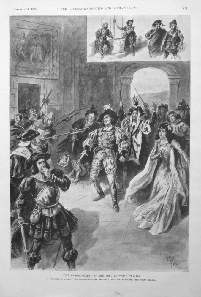 """""""The Swashbuckler"""" at the Duke of York's Theatre."""