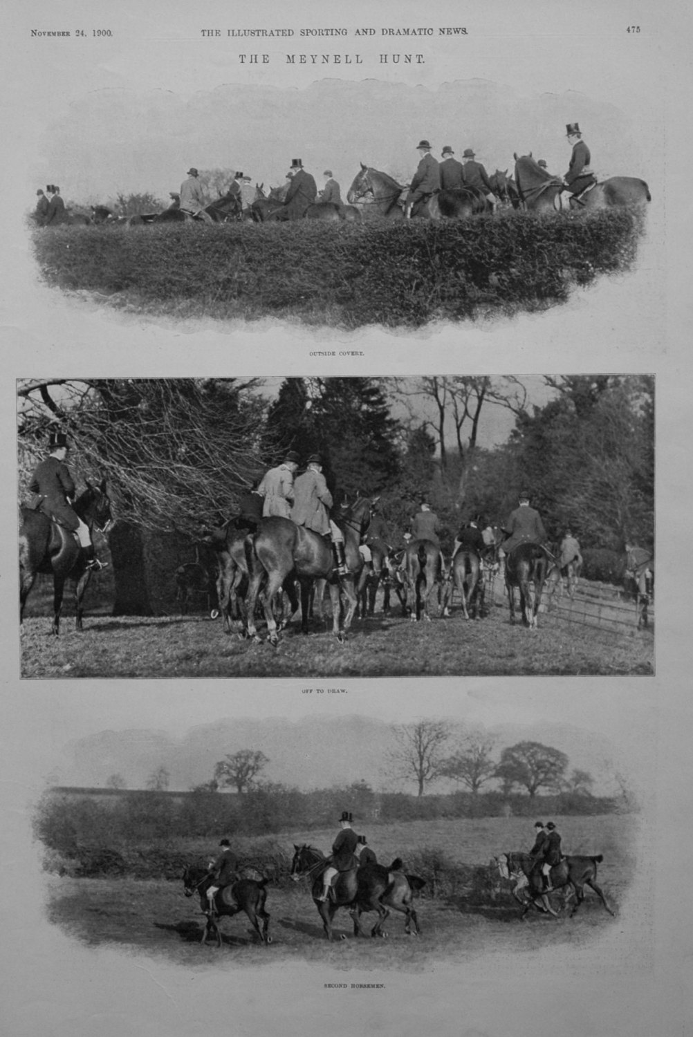 The Meynell Hunt. 1900