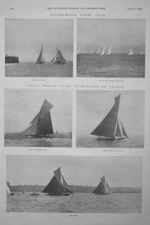 Royal Temple Yacht Club.- Coupe De France.
