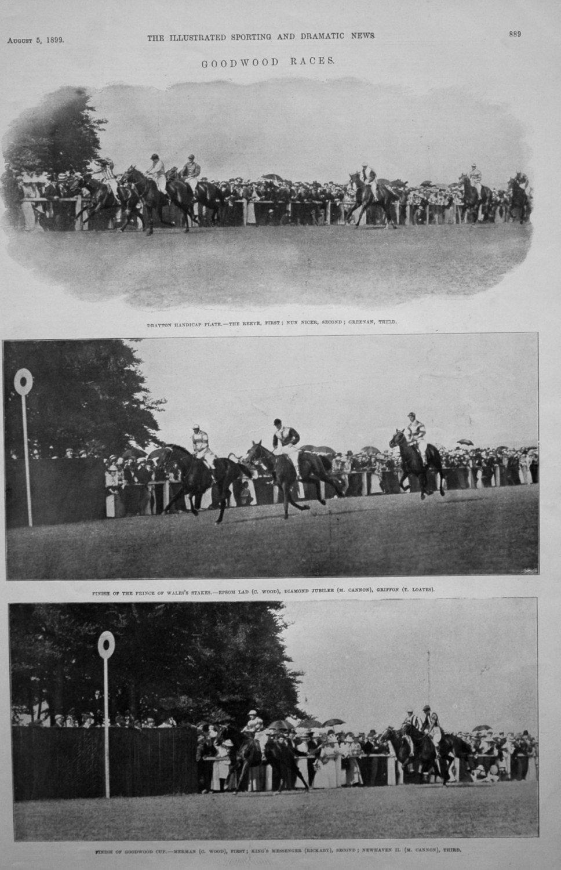 Goodwood Races. 1899.