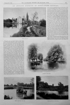 """""""An Angling District in Constable's Country."""""""