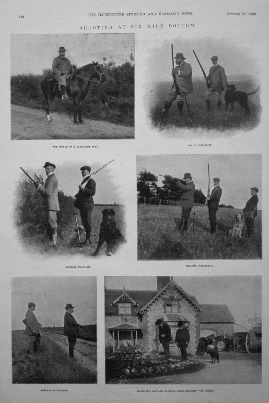 Shooting at Six Mile Bottom. 1899