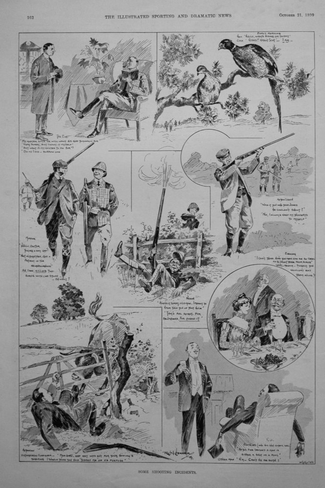 """""""Some Shooting Incidents."""" 1899"""