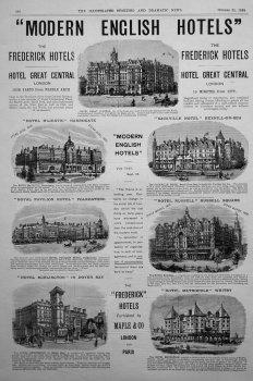 """Modern English Hotels."""