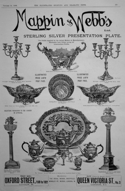 Mappin & Webb's. October 14th 1899.