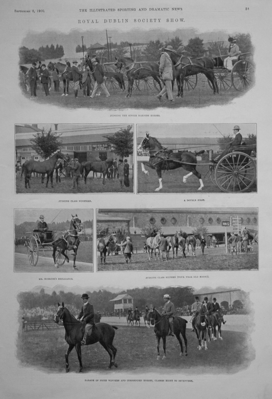 Royal Dublin Society Show. 1900