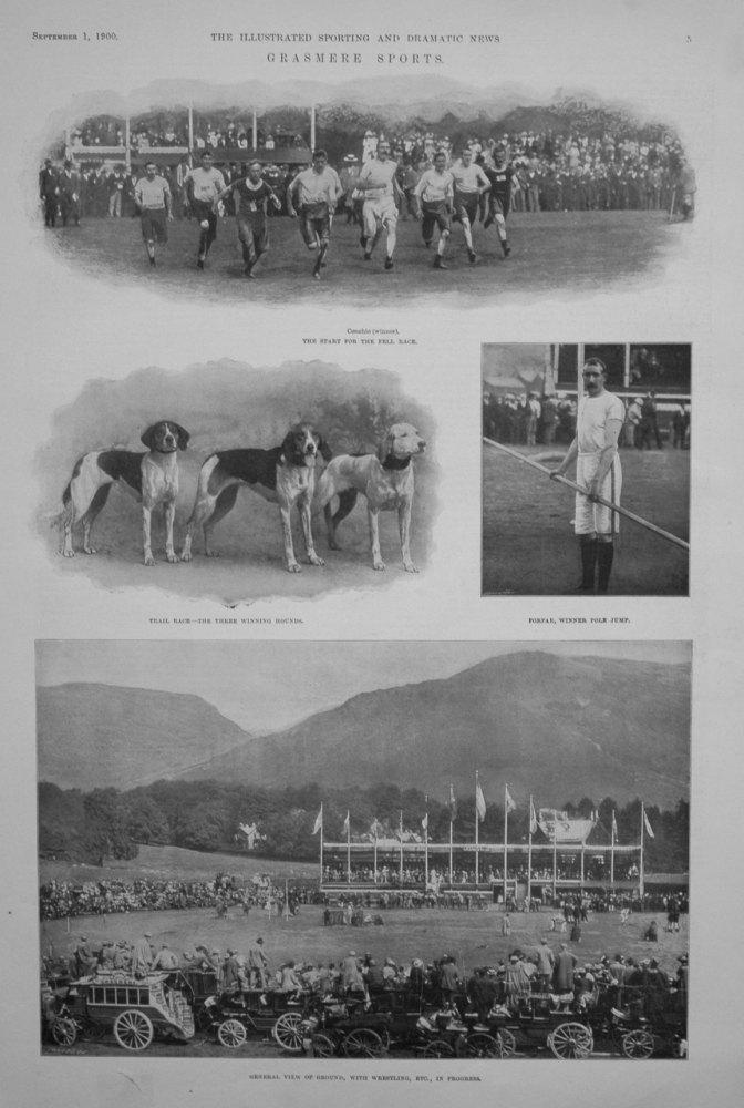 Grasmere Sports. 1900