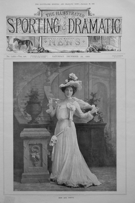 Miss Ada Reeve.