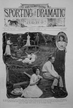 """Bevis,"" by Hubert Henry Davies, at the Haymarket Theatre."