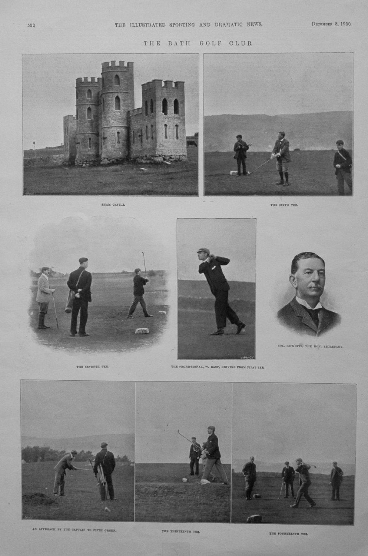 The Bath Golf Club. 1900.