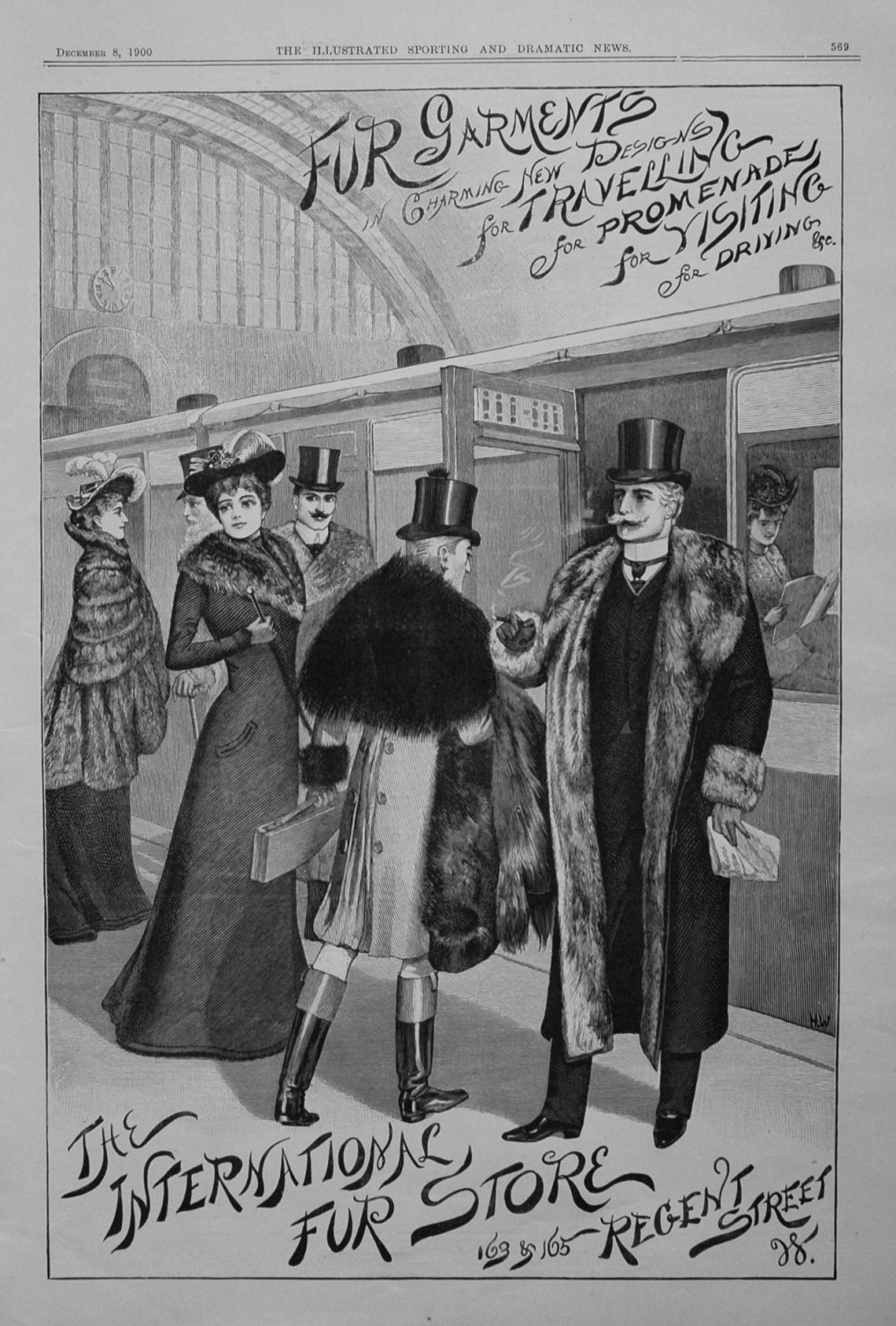The International Fur Store. December 8th 1900