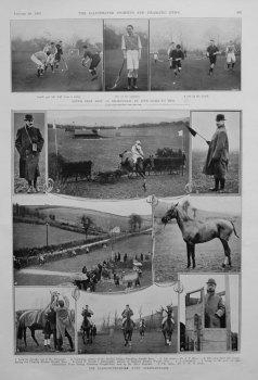 The Camarthenshire Hunt Steeplechases.