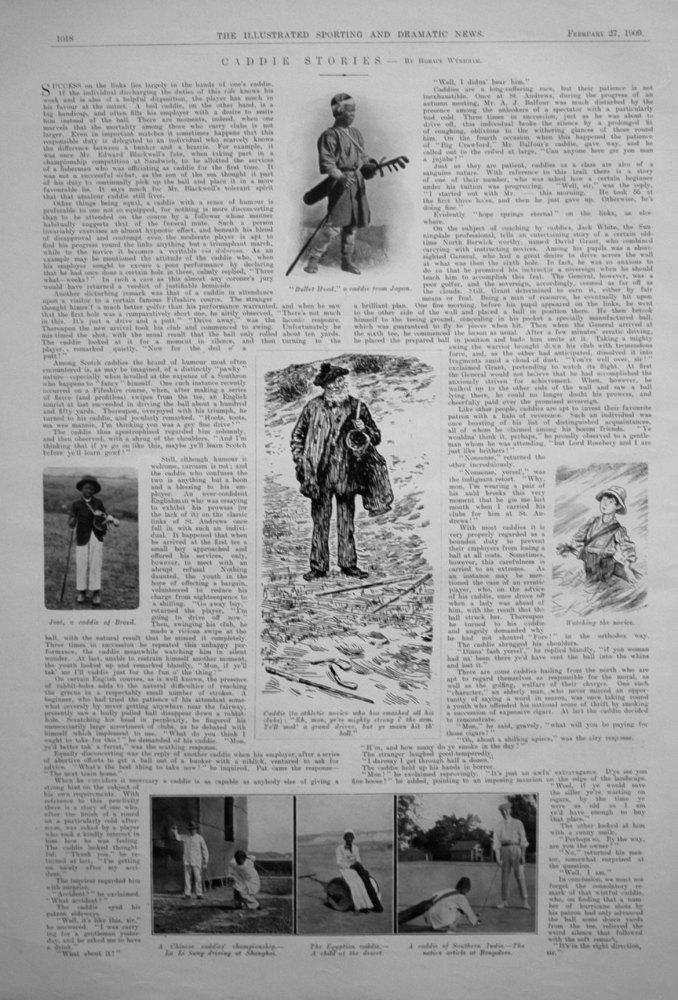 Caddie Stories. By Horace Wyndham. 1909