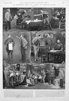 """""""An Englishman's Home,"""" by a Patriot, at Wyndham's Theatre. 1909"""