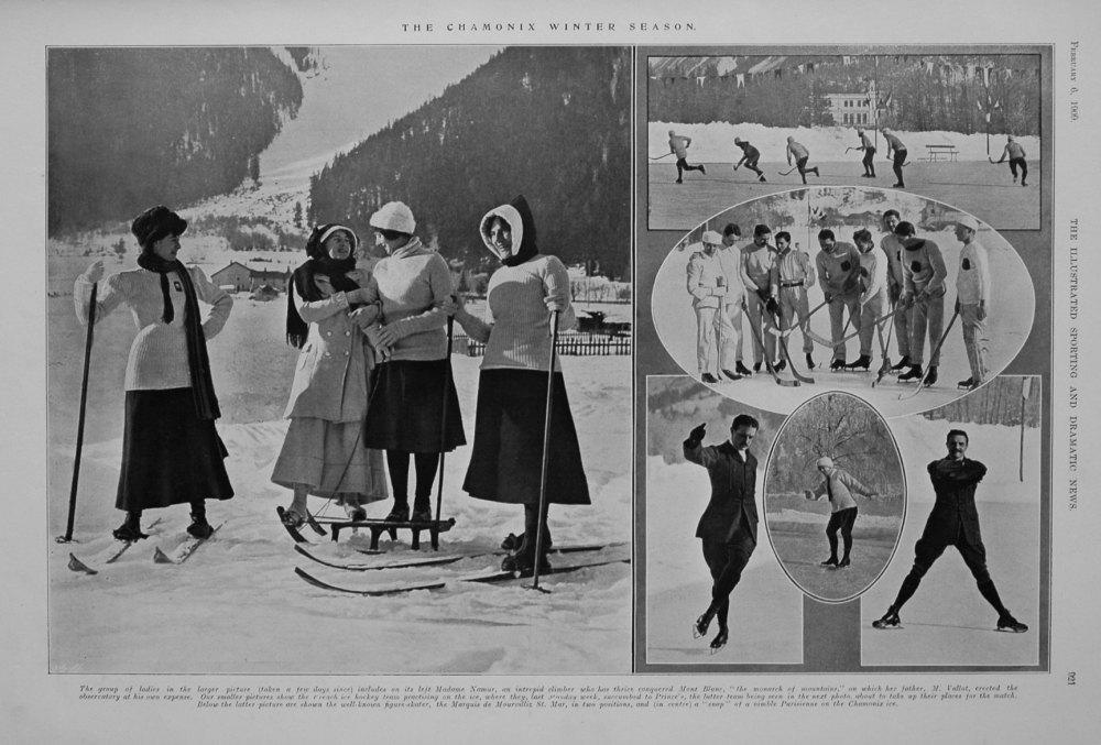 The Chamonix Winter Season. 1909