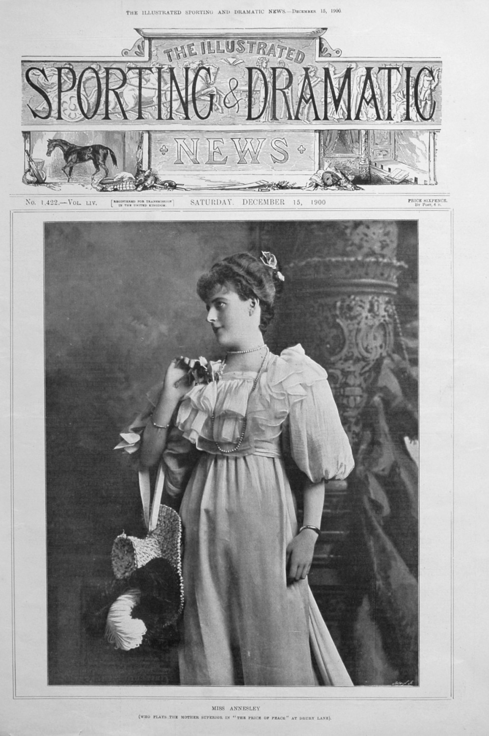 Miss Annesley. 1900