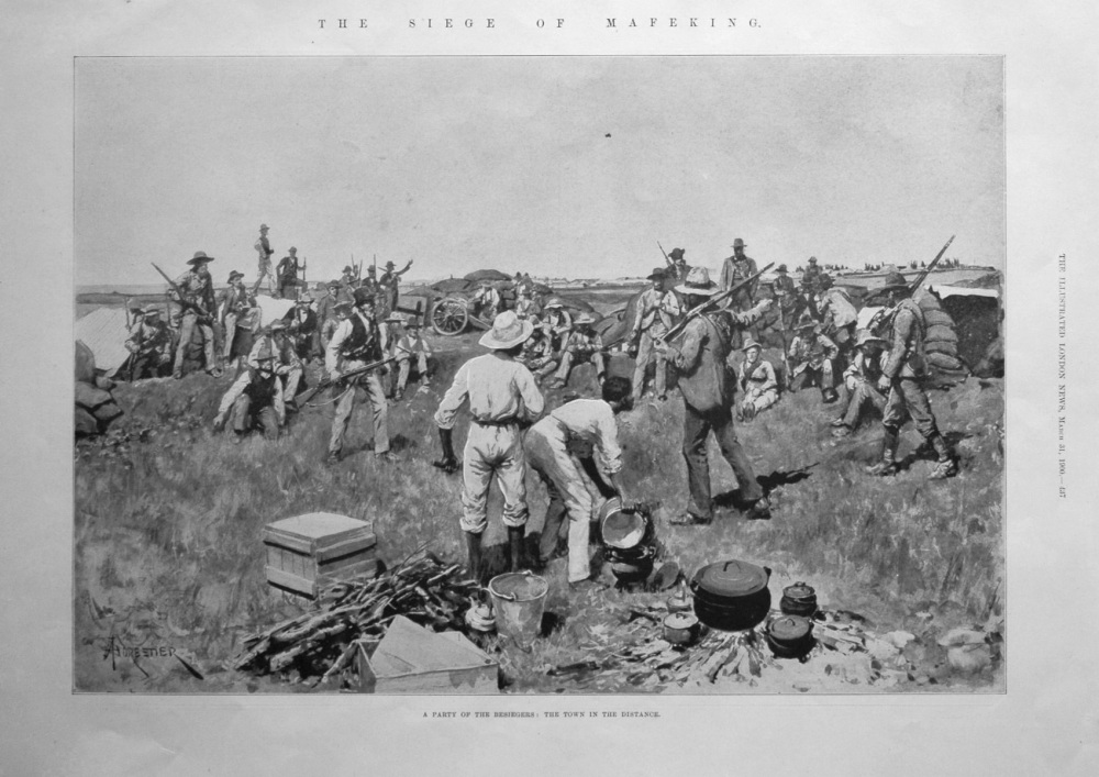 The Siege of Mafeking. 1900
