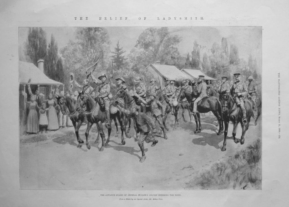 The Relief of Ladysmith. 1900