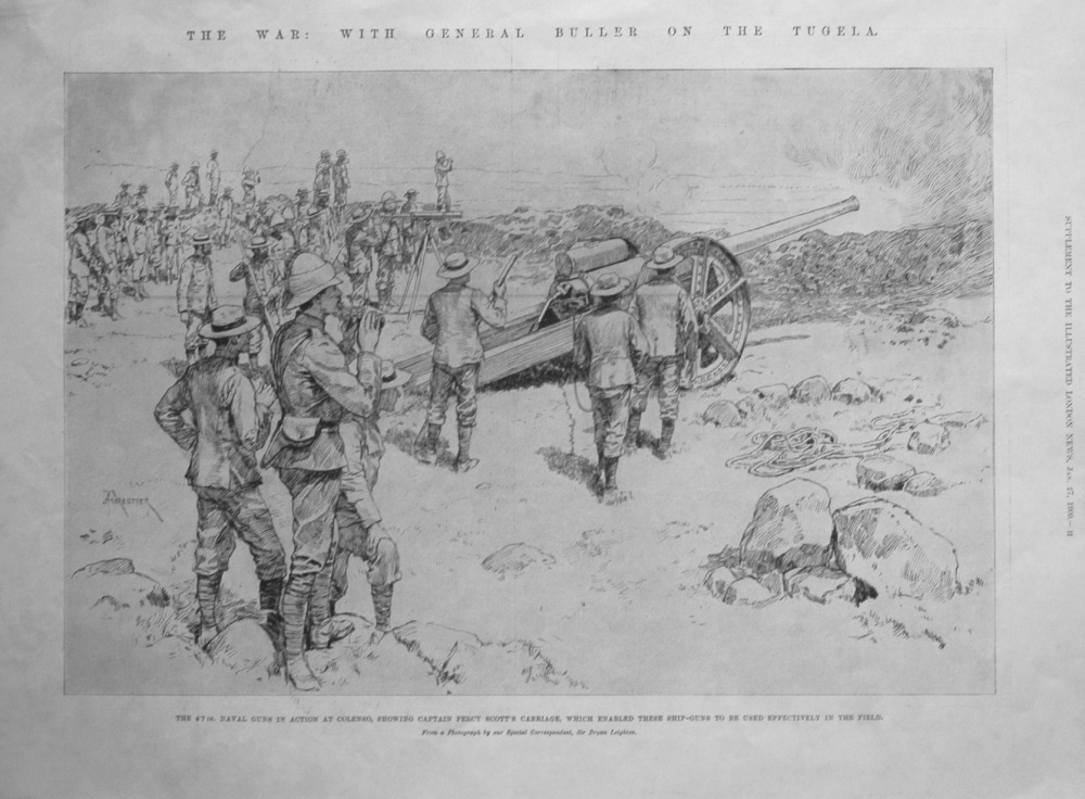 The War : With General Buller on the Tugela.