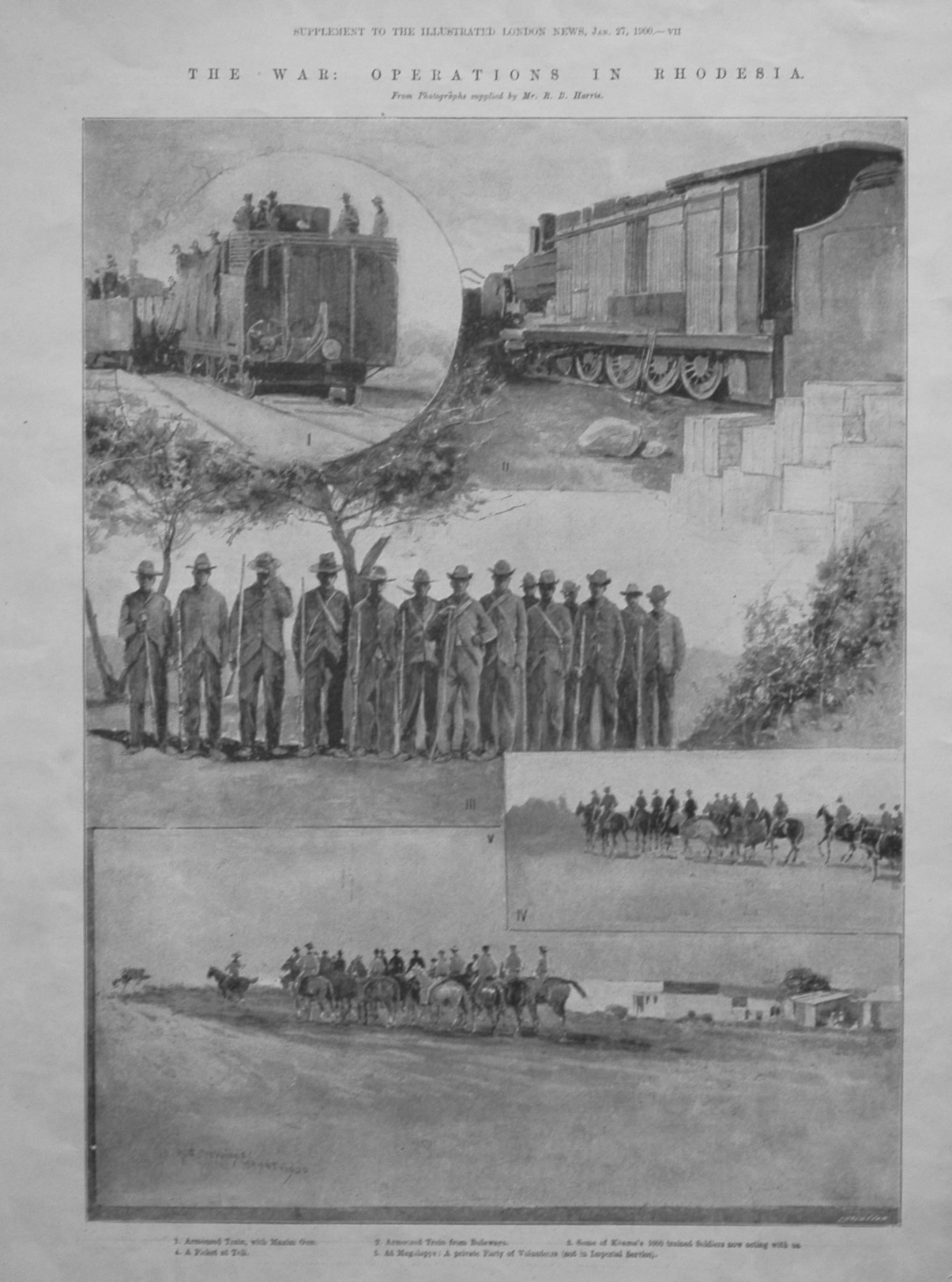 The War : Operations in Rhodesia. 1900