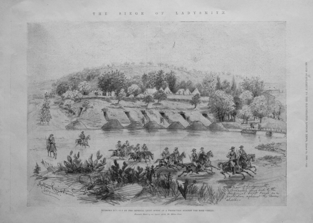 The Siege of Ladysmith. 1900