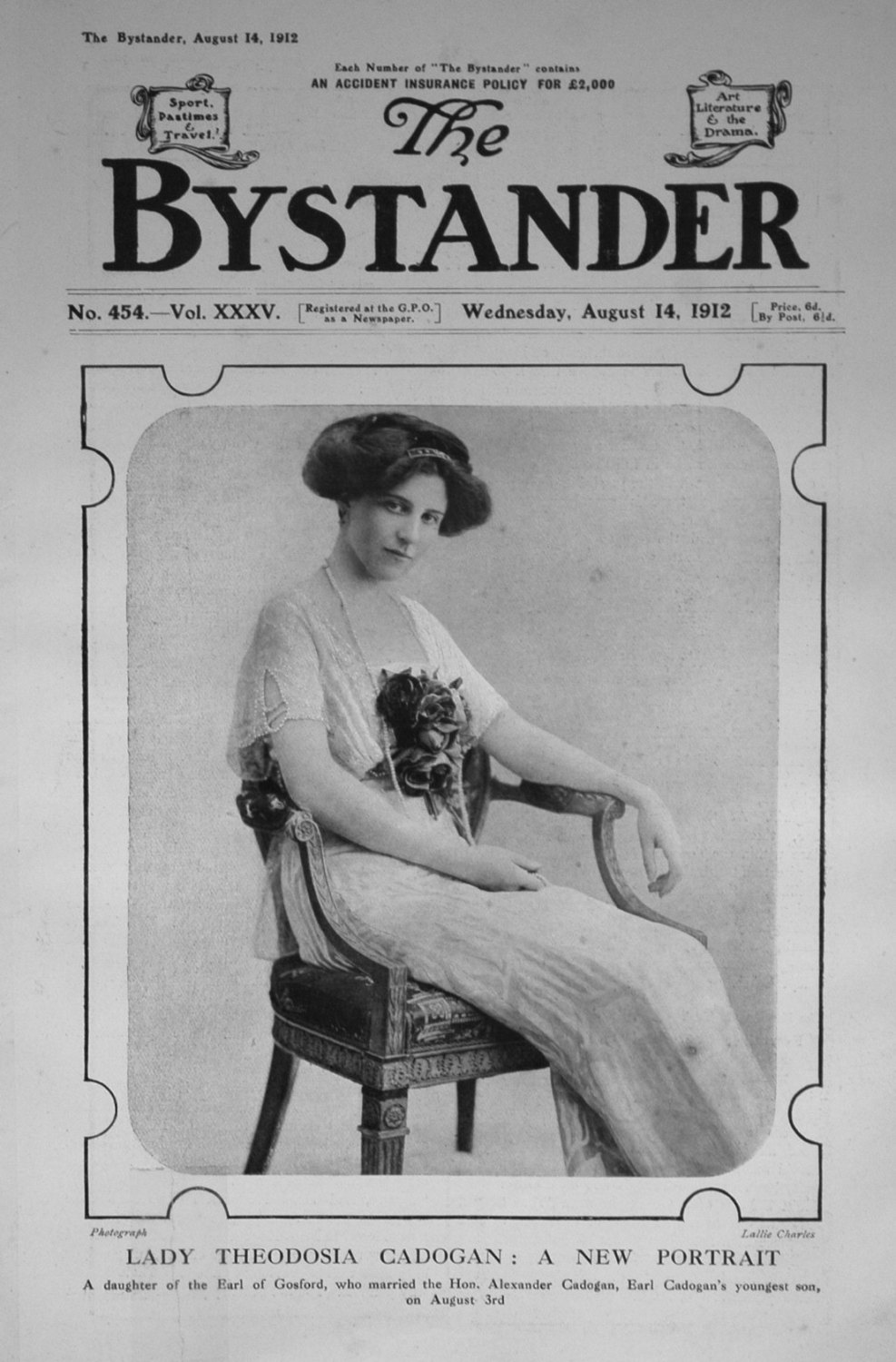 The Bystander August 14th 1912.