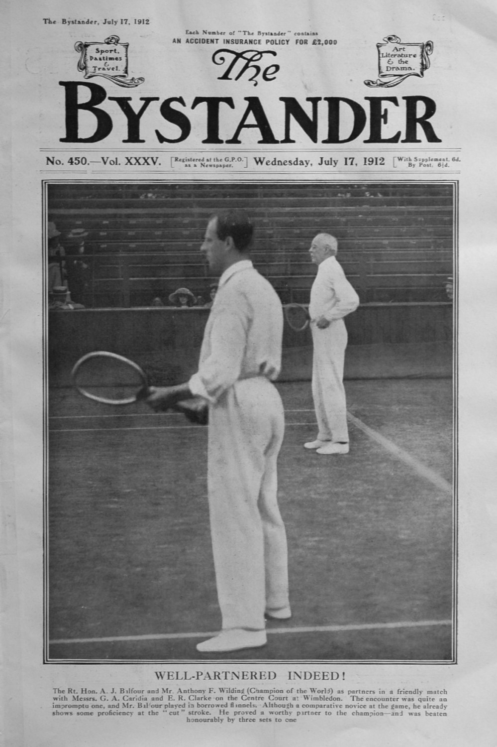 The Bystander July 17th 1912.