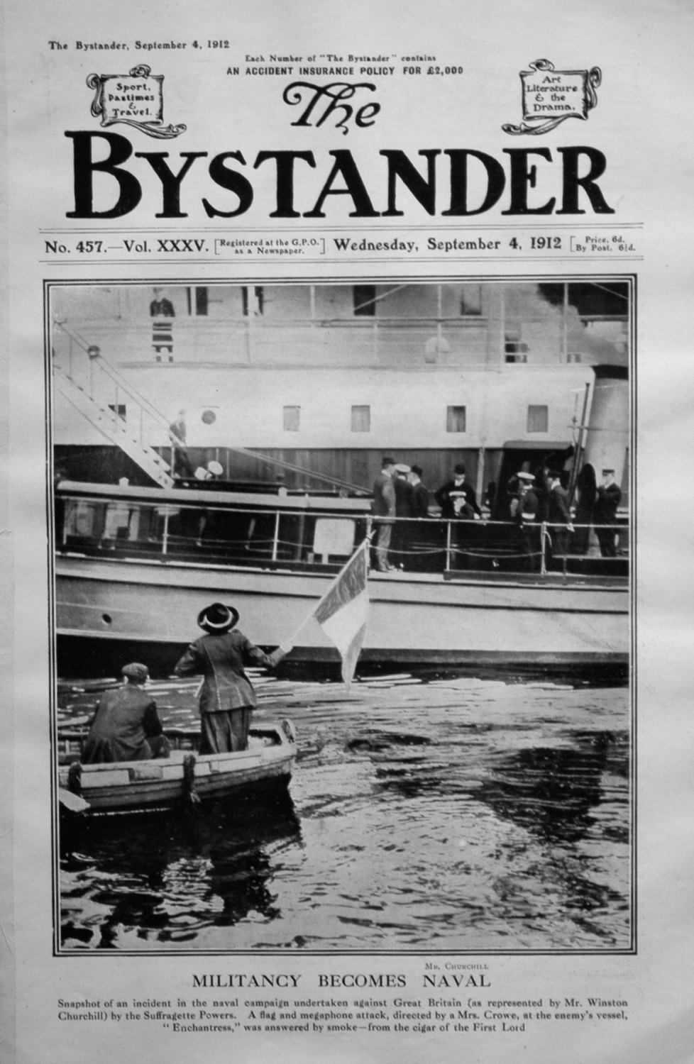 The Bystander September 4th 1912.