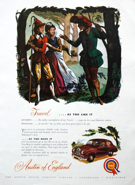 Colour Adverts 1953.