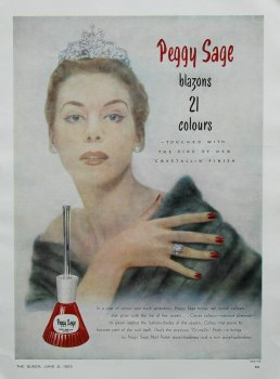 Colour Adverts 1953.