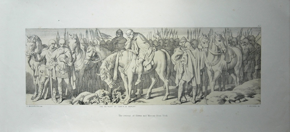The retreat of Edwin and Morcar from York.
