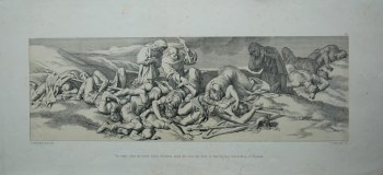 The night after the battle: Edith discovers, amid the slain, the body of Harold, last Saxon King of England.