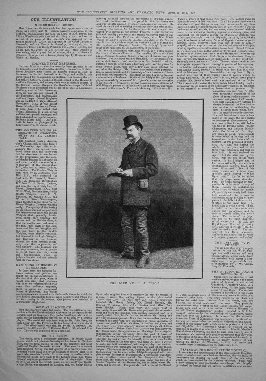 The Late Mr. H. J. Byron.