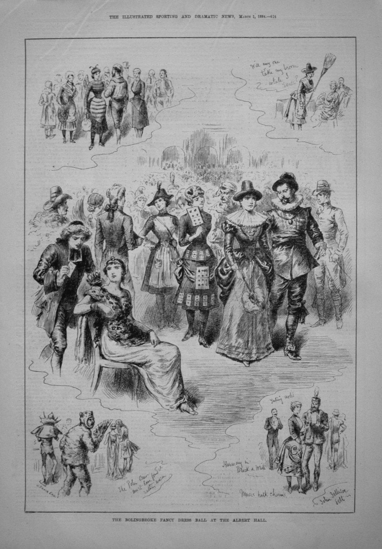 The Bolingbroke Fancy Dress Ball at the Albert Hall. 1884