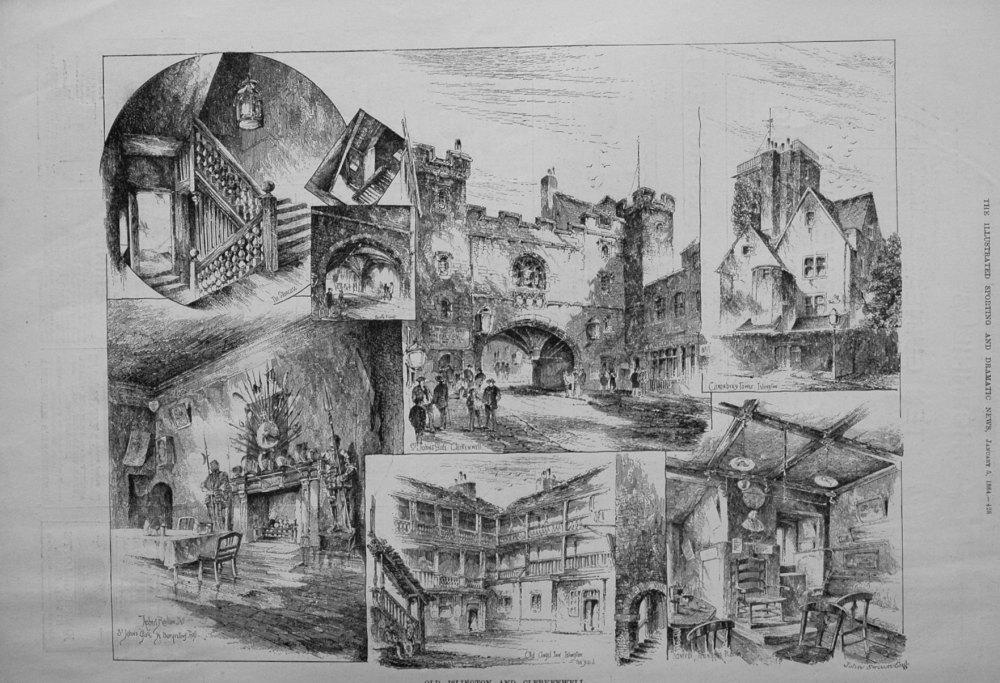 Old Islington and Clerkenwell. 1884