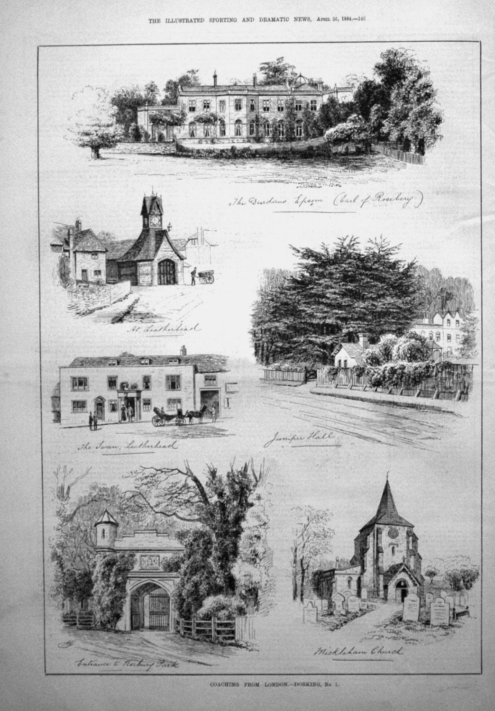 Coaching from London. -Dorking, No. 1. 1884