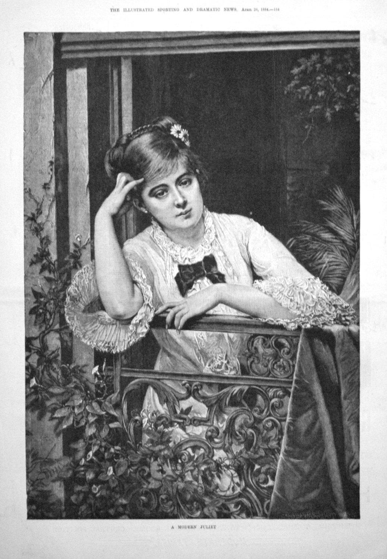A Modern Juliet.