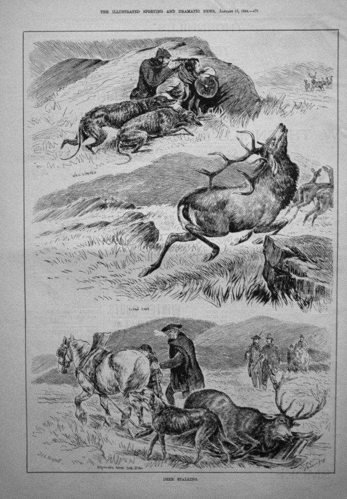 Deer Stalking. 1884