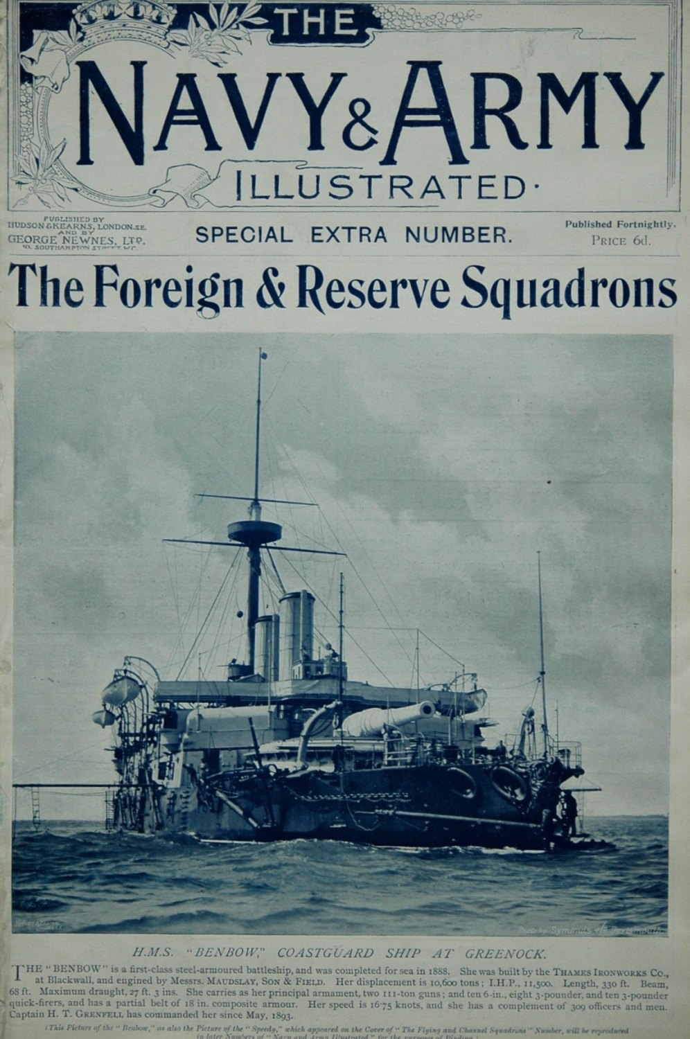 Navy & Army Illustrated. - The Foreign and Reserve Squadrons.