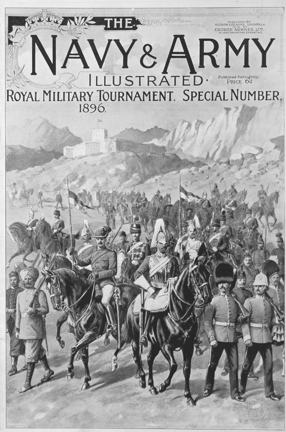 Navy & Army Illustrated. Royal Military Tournament. 1896.