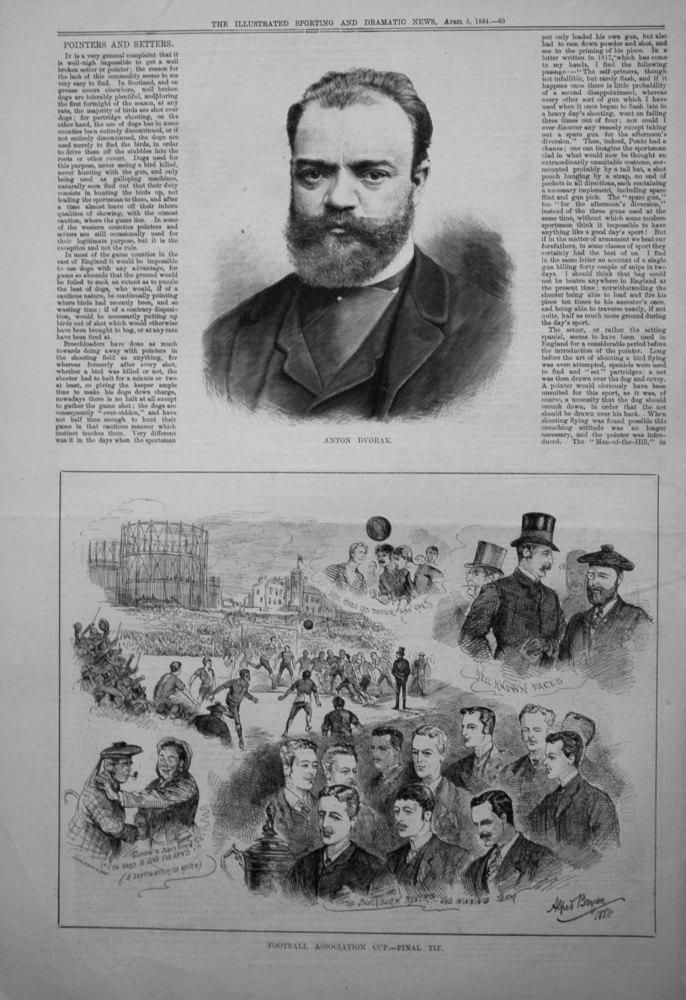 Football Association Cup. - Final Tie. 1884.
