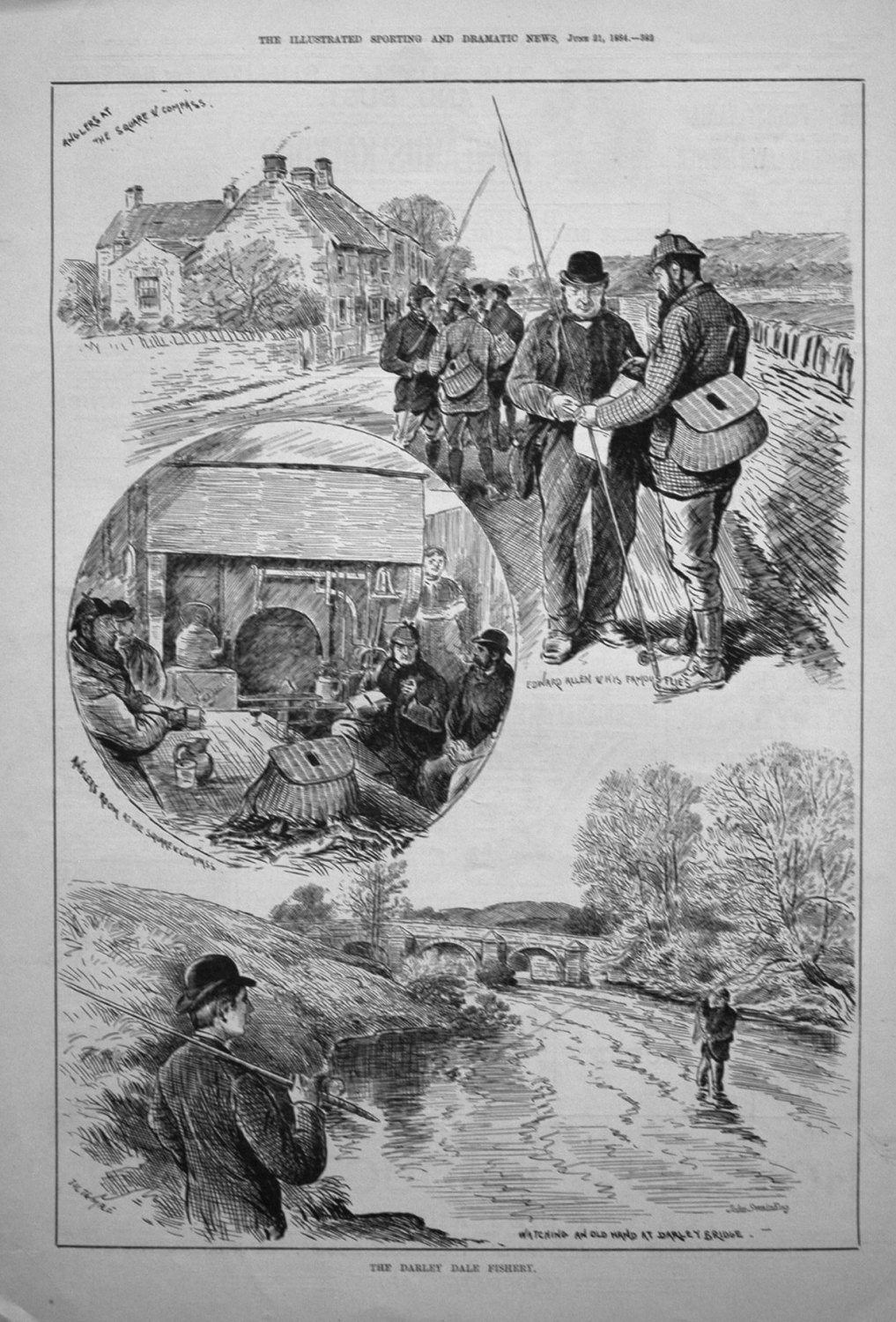 The Darley Dale Fishery. 1884