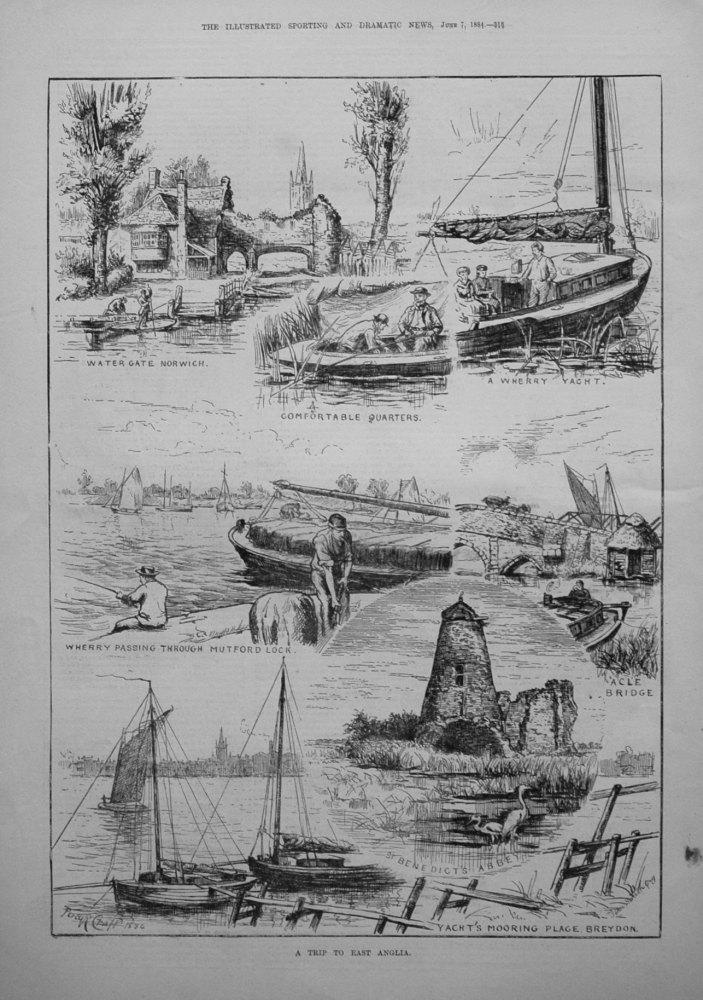 A Trip to East Anglia. 1884