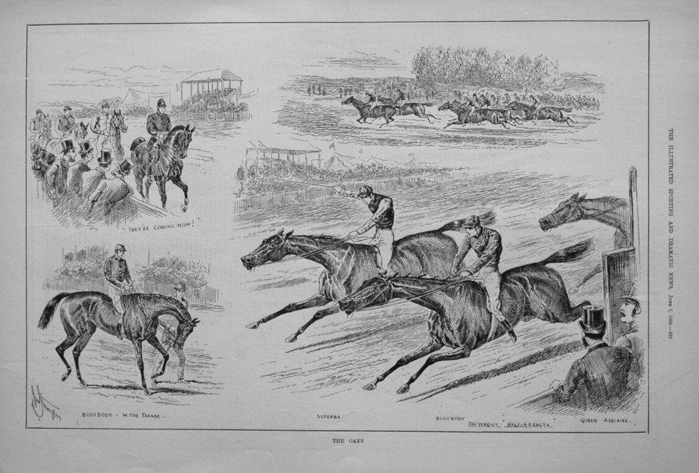The Oaks. 1884