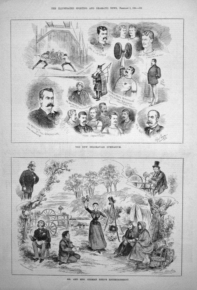 The New Belgravian Gymnasium. 1884