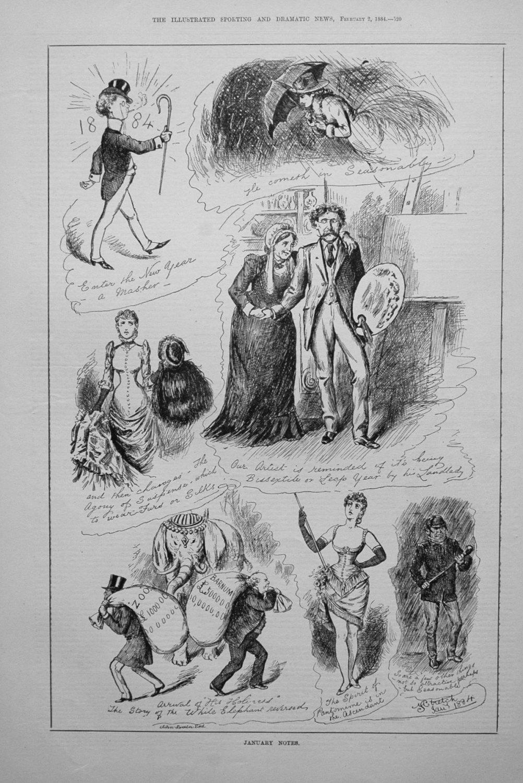 January Notes. 1884