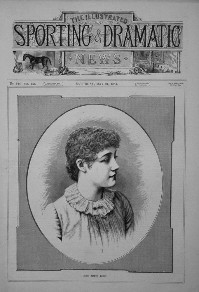 Miss Annie Robe. 1884