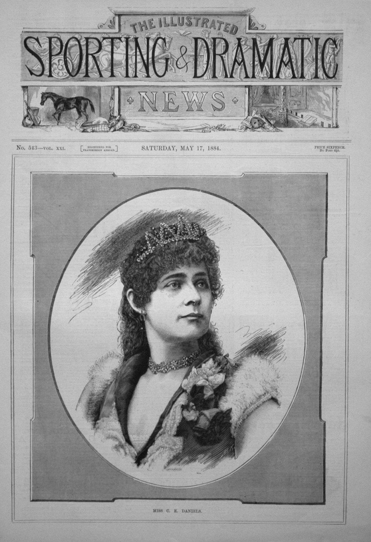 Miss C. E. Daniels. 1884