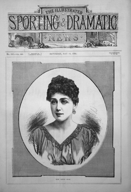 Miss Annie Rose. 1884